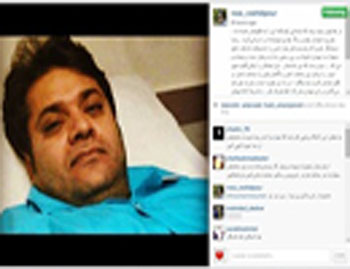 خواننده پاپ ایرانی در بستر بیماری سرطان تصاویر