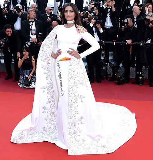جشنواره کن 2016 : مدل لباس آیشواریا رای و سونام کاپور در چهارمین و پنجمین روز جشنواره کن
