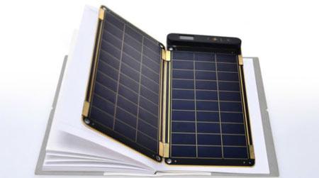با کاغذ خورشیدی تلفن همراه را شارژ کنید