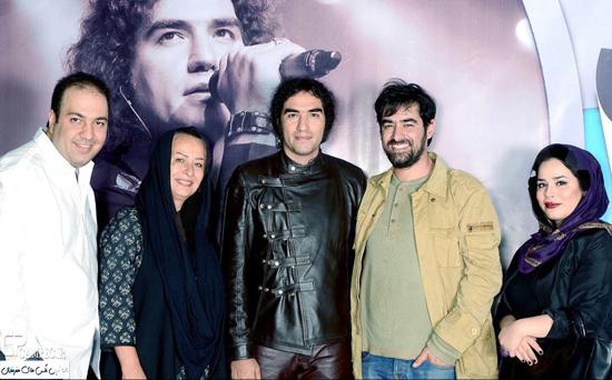 عکس های بازیگران مشهور در کنسرت رضا یزدانی