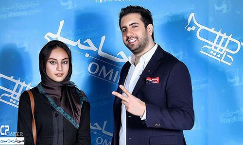 بازیگران در کنسرت اسفند ماه امید حاجیلی