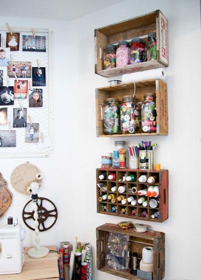 طراحی شلف های خلاقانه برای دکوراسیون داخلی  تصاویر