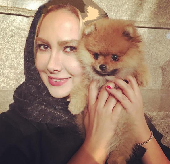 عکس ها و متن های زیبای آنا نعمتی در صفحه شخصی اش