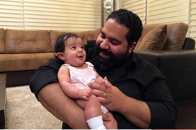 ازدواج رضا صادقی چطور اتفاق افتاد؟! عکس همسر و دخترش