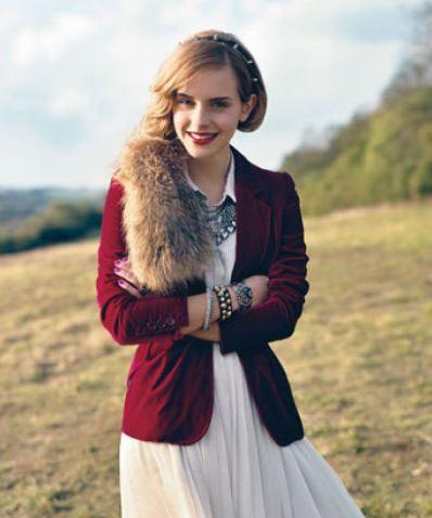 عکسهایی از «اما واتسون» بازیگر اهل انگلستان! تصاویر