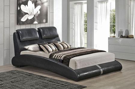 شیک ترین مدل سرویس خواب چرمی  تصاویر