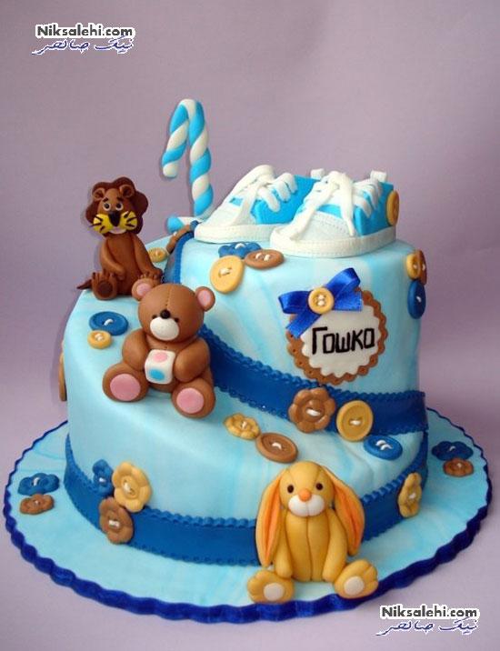 ایده های زیبای کیک تولد برای یک سالگی پسرکوچولوها