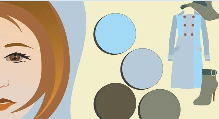 انتخاب رنگ لباس براساس شخصیت، رنگ پوست، مو و چشم  تصاویر
