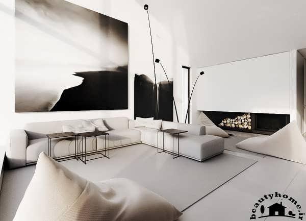 دکوراسیون خانه کوچک با چیدمان متفاوت و زیبا  تصاویر