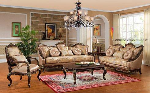 بهترین مبل برای ست کردن با فرش های طرح دار چیست؟