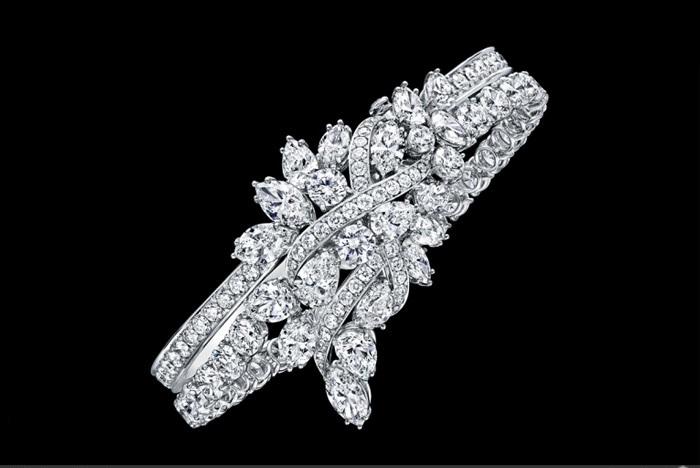 مدل دستبند الماس برند وینستون