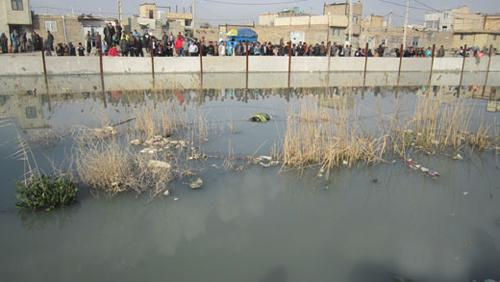 پسر جوان در کانال فاضلاب غرق شد