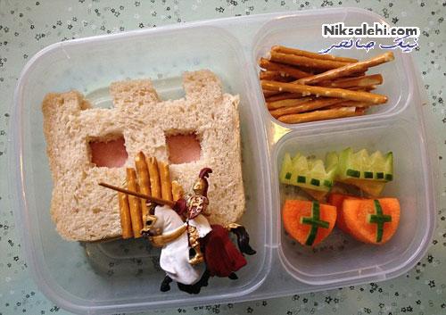 ابتکار بسیار جالب و زیبای یک مادر برای پسر بدغذایش