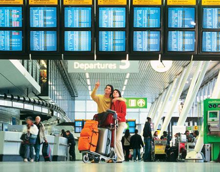 برای سفرهای هوایی حرفه ای زمان طولانی فرودگاه را سپری کنید