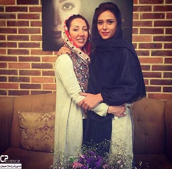 پریناز ایزدیار در سالن زیبایی مریم سلطانی