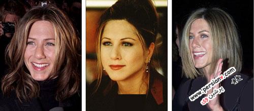نگاهی بر مدل موهای همسرسابق برد پیت در طی سال ها تصاویر