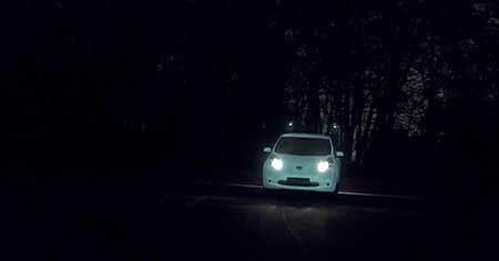 خودروی جدیدی که در شب میدرخشد!! تصاویر