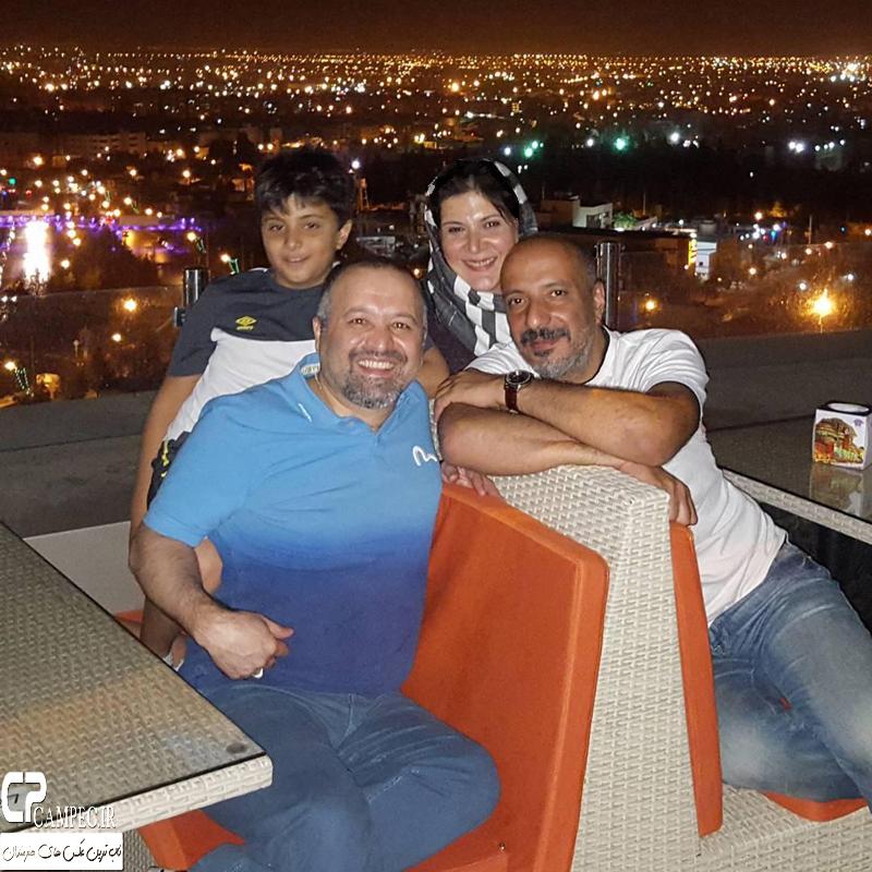 عکس های خانوادگی جدید ریما رامین فر و همسر و فرزندش