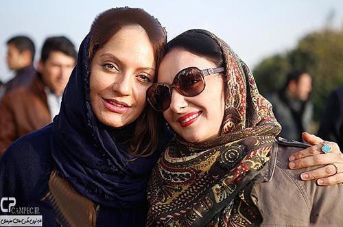 جدید ترین عکسهای مهناز افشار در حواشی جشنواره فجر