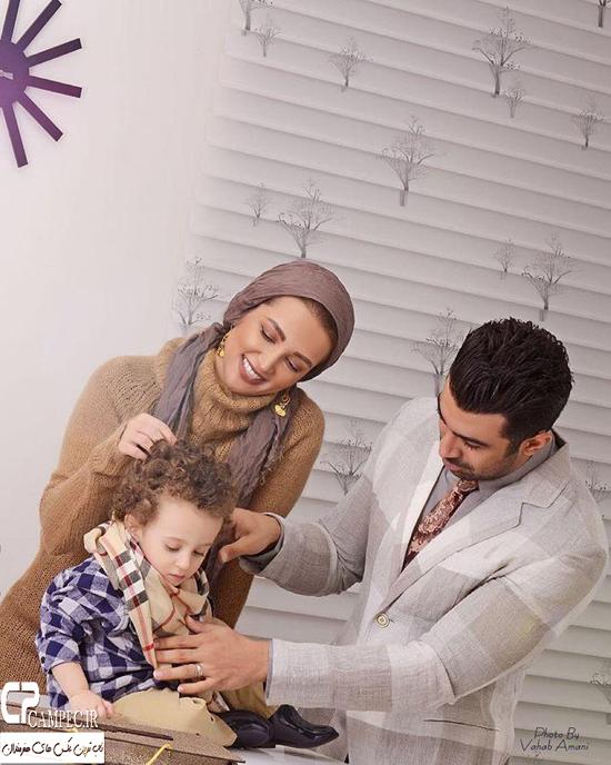 عکس های جدید و دیدنی روناک یونسی و خانواده اش