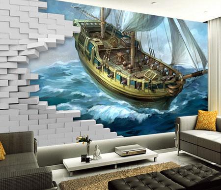 زیباترین مدل های کاغذ دیواری  تصاویر