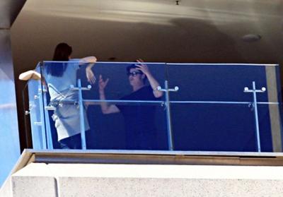 بحث و جدل «آنجلینا جولی» و «براد پیت» در هتل!  تصاویر