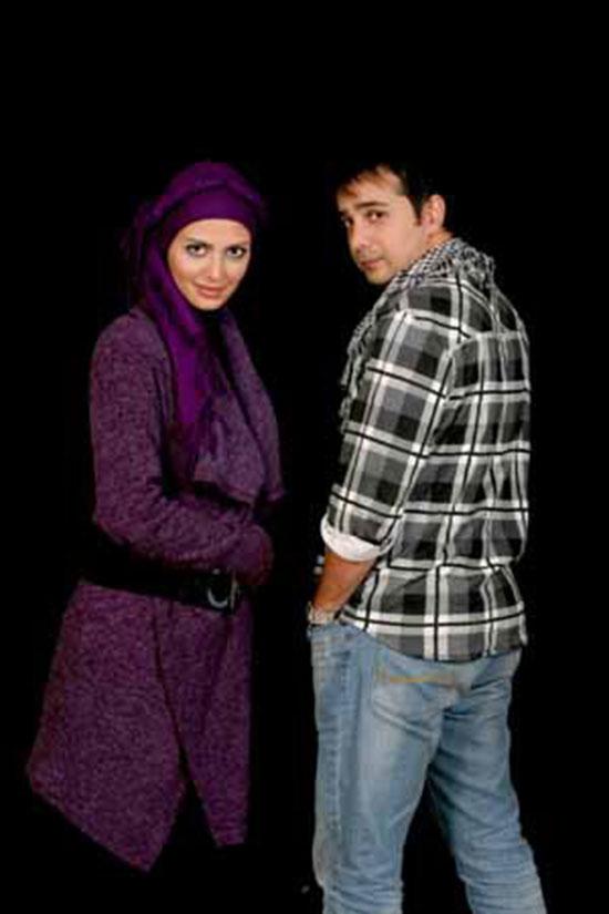 جدیدترین عکس های سپند امیرسلیمانی و همسرش