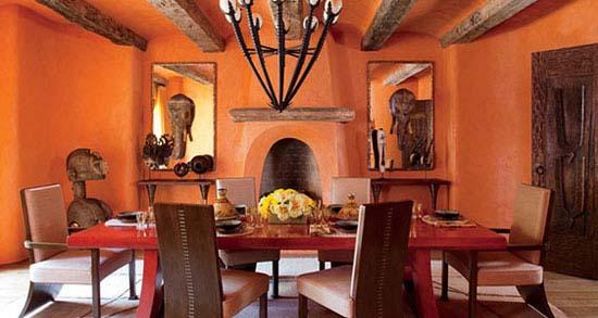 اتاق غذاخوری به سبک ستارگان