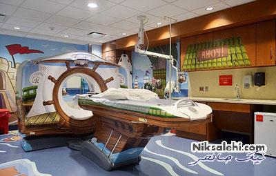 ایده بسیار جالب و منحصر به فرد یک بیمارستان