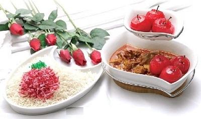 خورش سیب سرخ یه مزه متفاوت و به یادموندنی! عکس