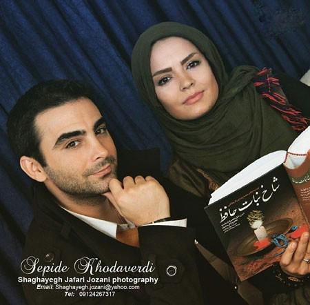 تصویرآتلیه ای سپیده خداوردی در کنار همسرش عکس