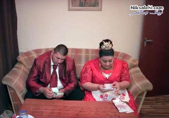 عروسی بسیار گرانقیت و پرسروصدای زوج جوان در شبکه های اجتماعی