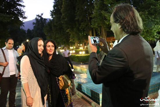 عکس های زیبای نیکی کریمی در اکران فیلم آی لاو تهران