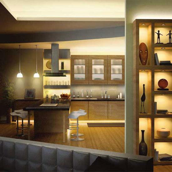 نکات مهمی که قبل از نورپردازی آشپزخانه باید بدانید تا دکوراسیونی منحصربه فرد بسازید تصاویر