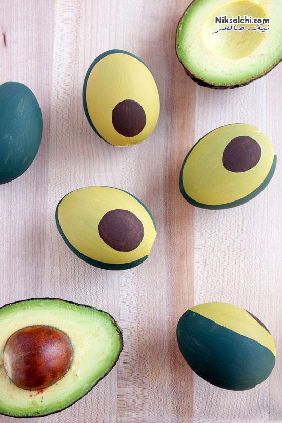 مدل هایی از تزئینات زیبای تخم مرغ برای سفره هفت سین