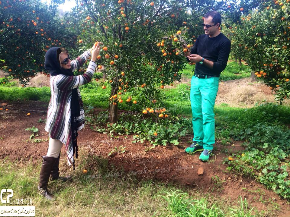 خوشگذرانی شبنم قلی خانی و همسرش در استرالیا
