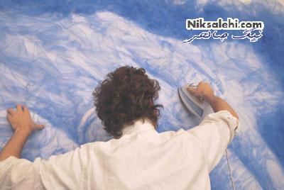 اثرهای باورنکردنی یک هنرمند تنها با اتو