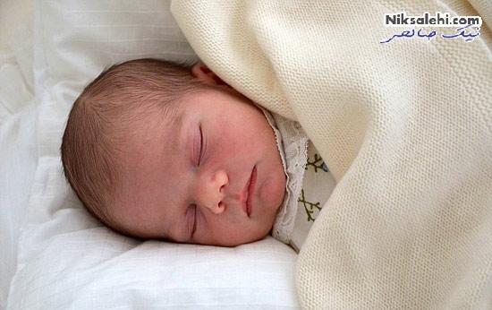 اولین عکس رسمی از شاهزاده جدید سوئد