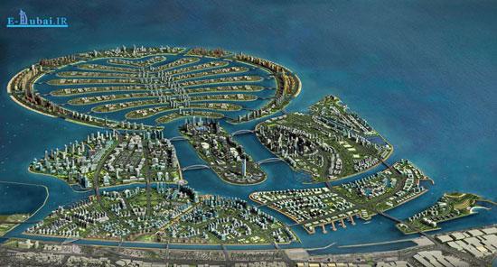 بزرگترین جزیره های مصنوعی دنیا در دبی! تصاویر