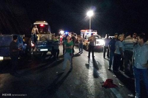 آخرین جزئیات از تصادف دلخراش رانندگی در جاده چالوس