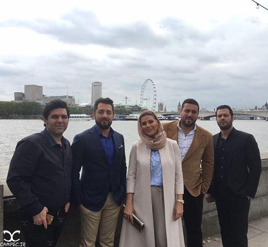 اکران فیلم بارکد با حضور بازیگران مشهور فیلم در لندن