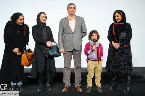 حضور پررنگ بازیگران و چهره های مشهور در روز سوم جشنواره فیلم فجر