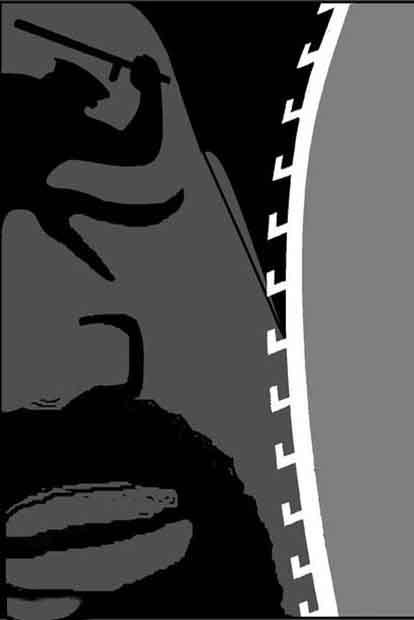 مجموعه کاریکاتورهای تیراندازی پلیس آمریکا به سیاهپوستان