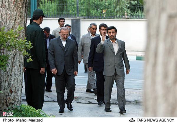 عکس: متکی و احمدینژاد، امروز