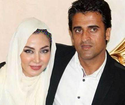 عکسهایی از فقیهه سلطانی در کنار همسرش تصاویر