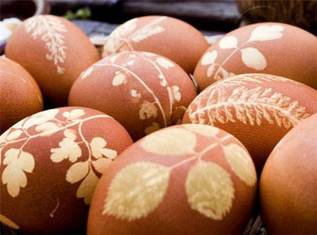 تزیین تخم مرغ هفت سین94 با جوراب