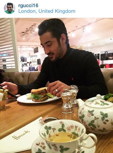 رضا قوچان نژاد فوتبالیست تازه متاهل شده! تصاویر