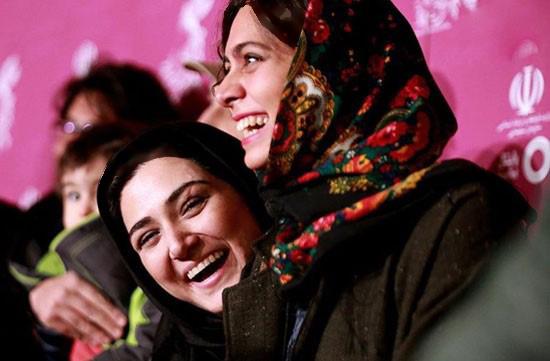 باران کوثری و خنده هایش در کاخ جشنواره تصاویر