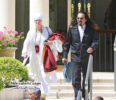 ظاهر جالب پدر ستاره مشهور دنیا