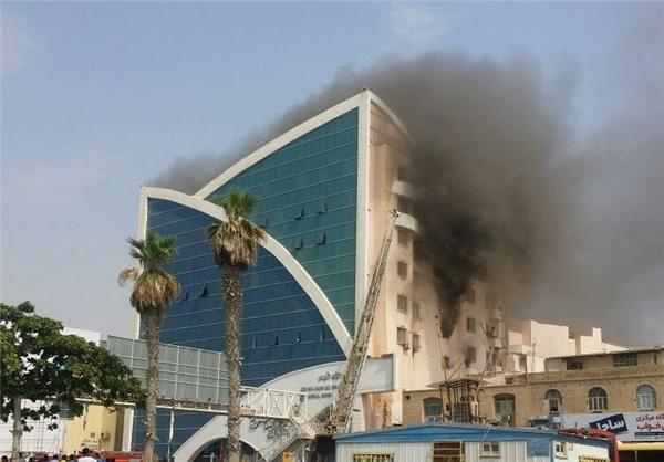 مجتمع بزرگ تفریحی مسکونی مدرن در بندرعباس در آتش سوخت